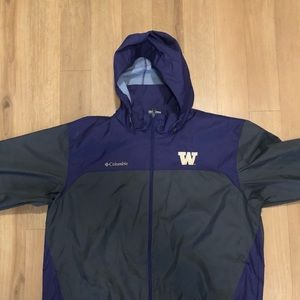 University of Washington Columbia Rain Jacket
